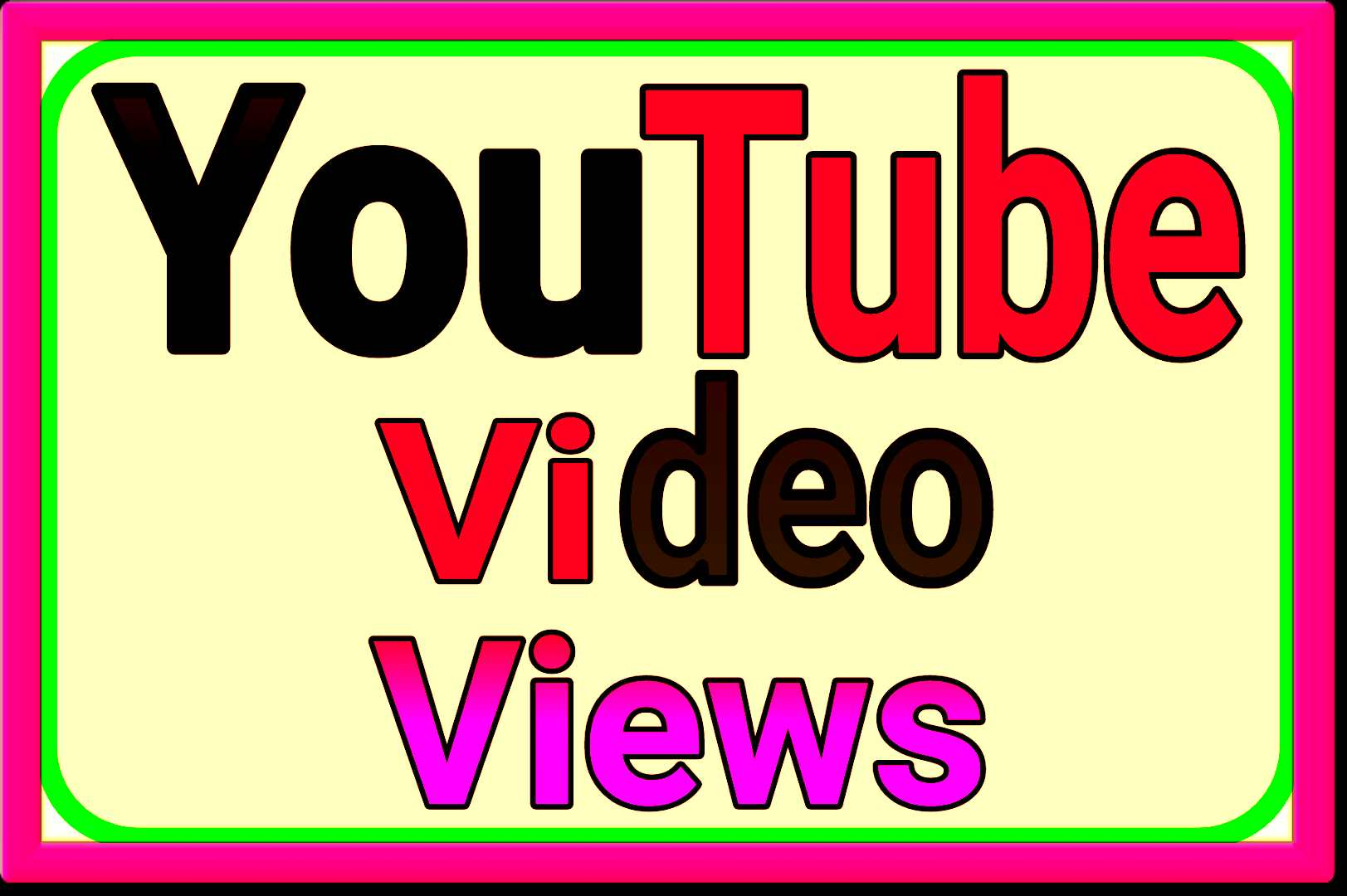 I will do organic Youtube video marketing via real us...