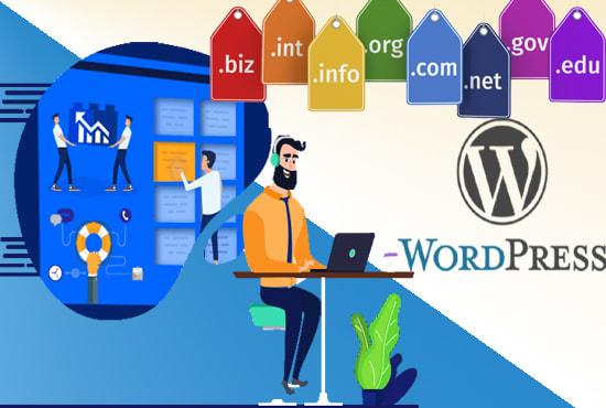 Develop Your Professional WordPress Website