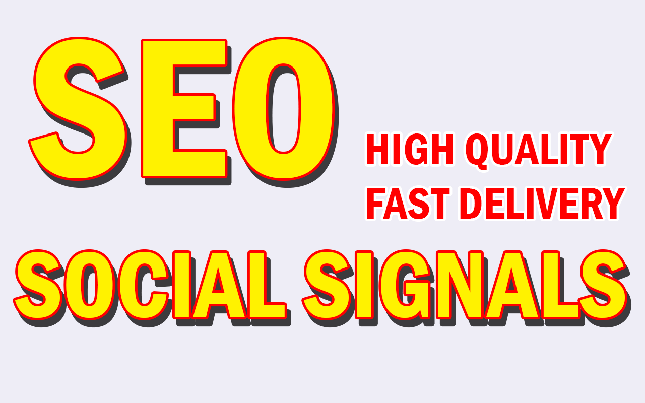 Build Supper Fast 3303+ Powerful SEO Social Signals H...