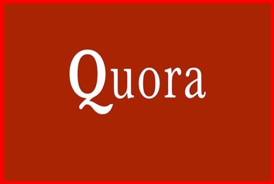 Guaranteed High Quality 15 Quora Answers