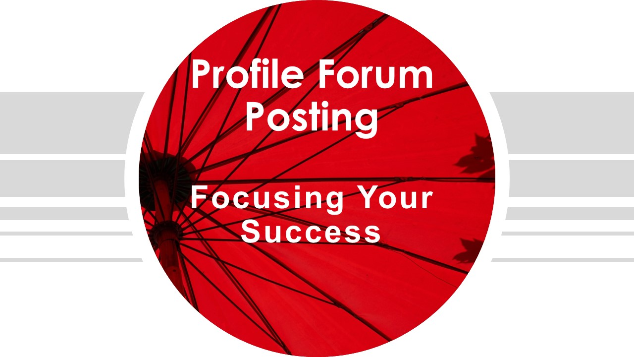 I Can Create Profile Forum Back Link For Your Website