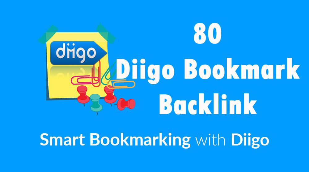 Diigo High Quality 80 Bookmark backlink PR8-9 Google ...
