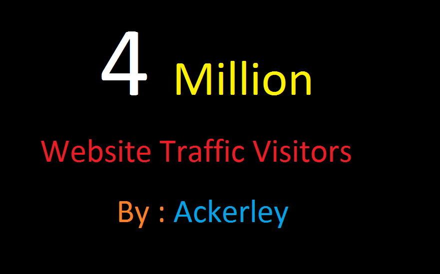 4 Million Worldwide Website Traffic For network Marke...