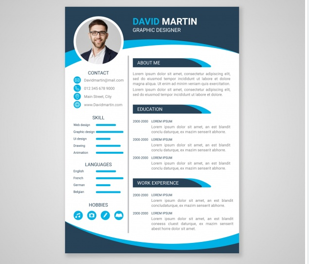Design Amazing and professional Cv RESUME + Free Business Card 100%