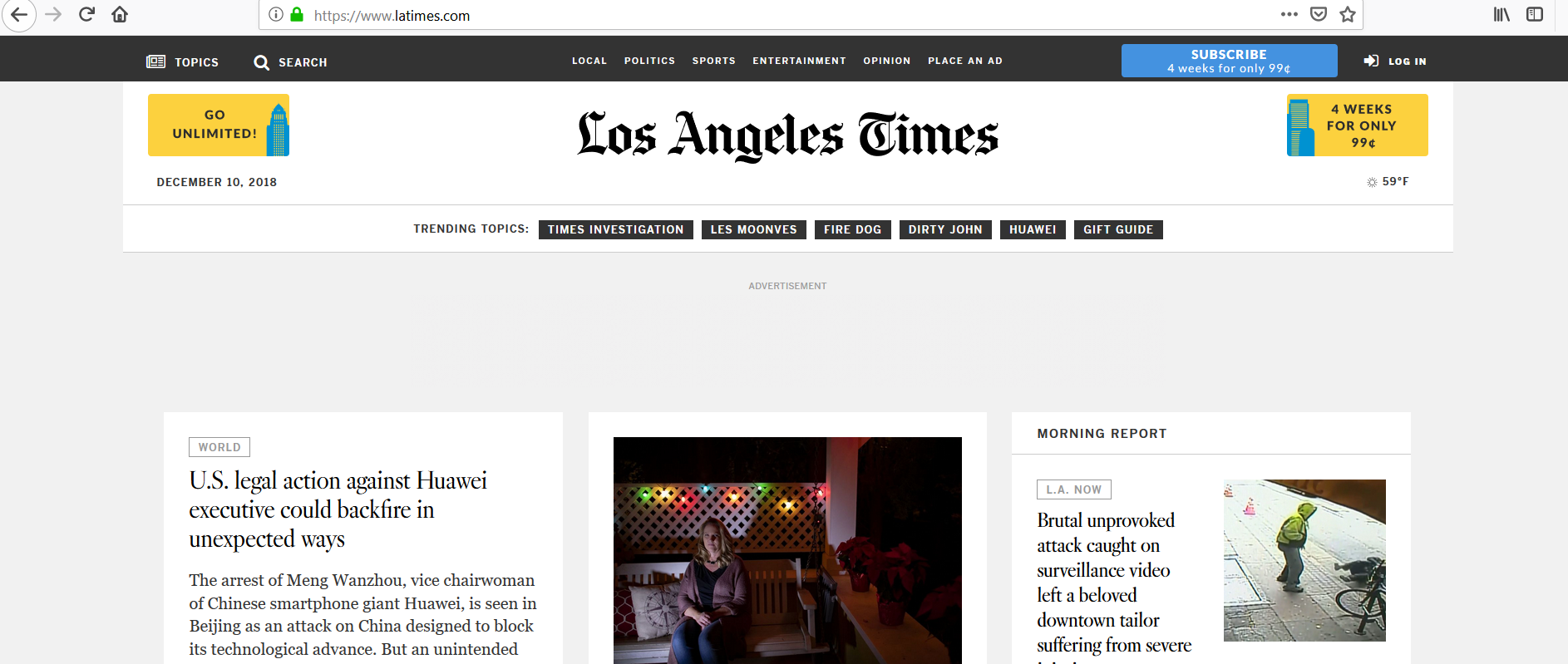 guest post on Los Angeles Times Latimes Latimes. com DA94
