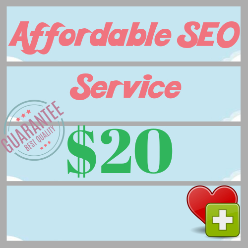 Affordable Manual Weekly SEO Service