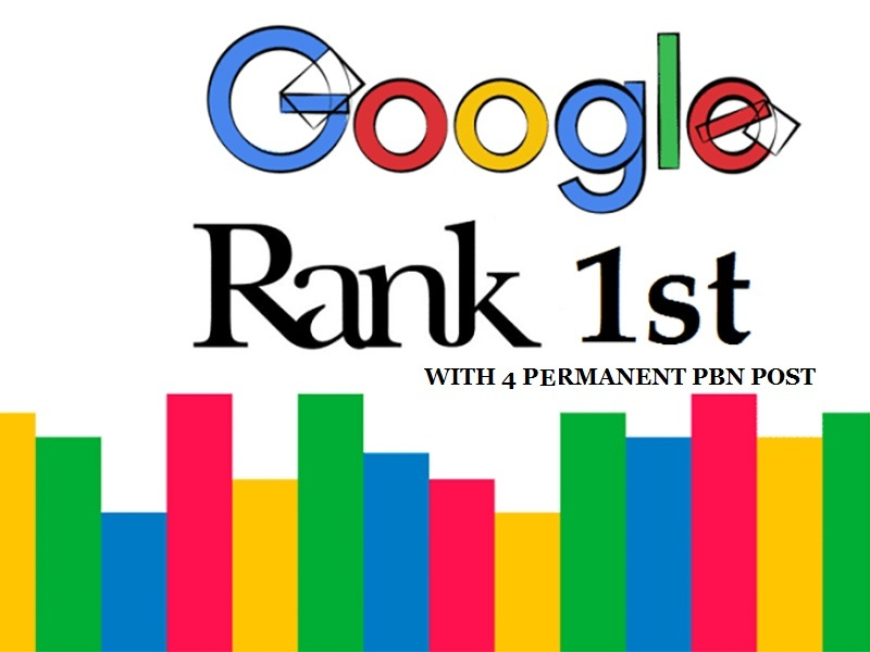 Rank On 1st Page Google With 4 Manual High Quality PA/DA TF/CF Permanent PBN Link In 24hours