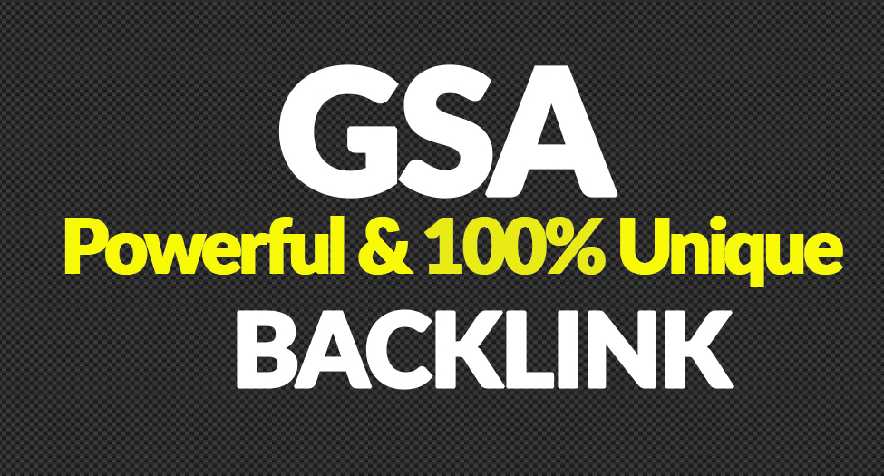 10,00,000 GSA SER Backlinks  For Increase Link Juice and Faster Index on Google