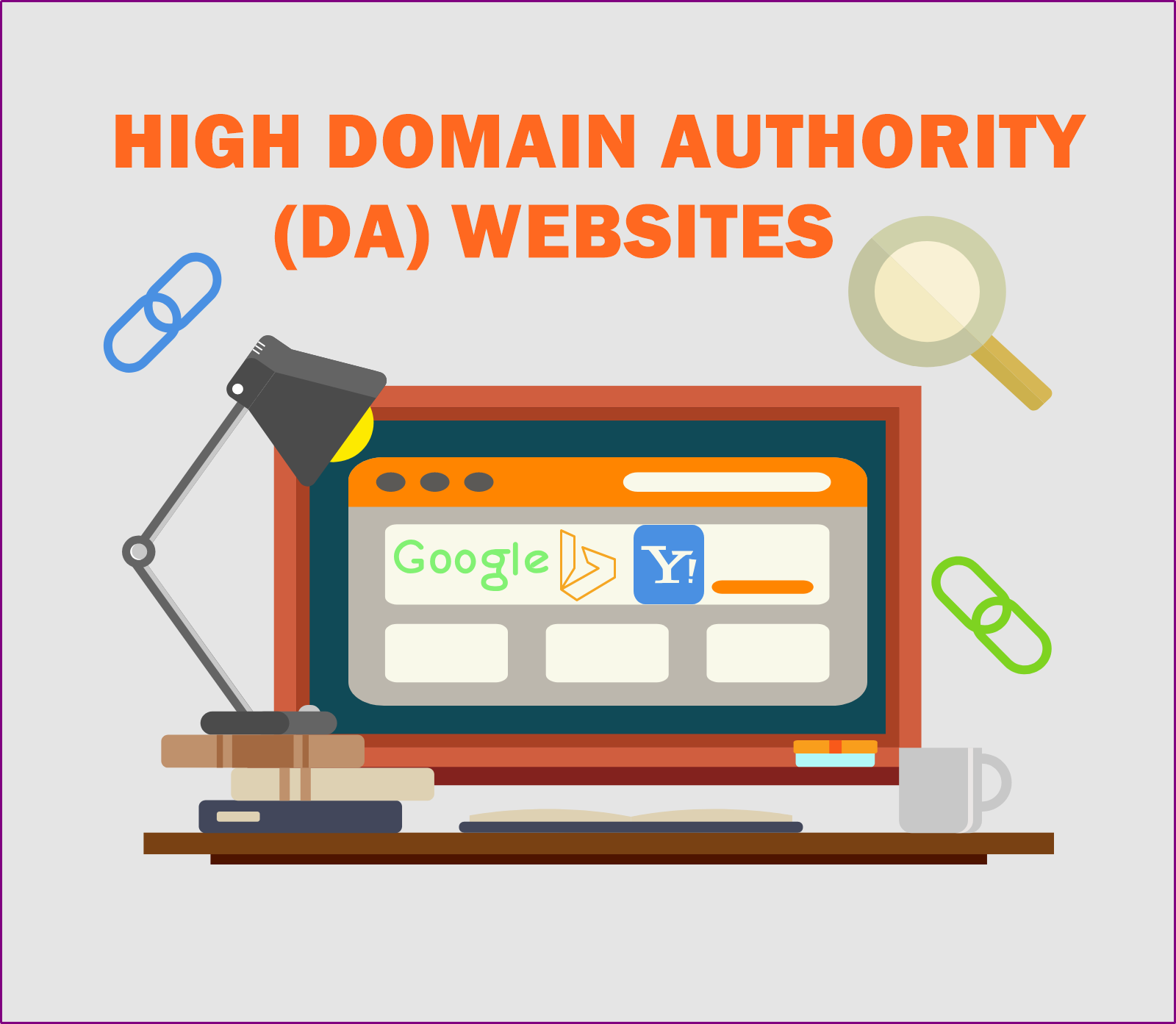 We Will Link 1 Website To Our High Authority Website