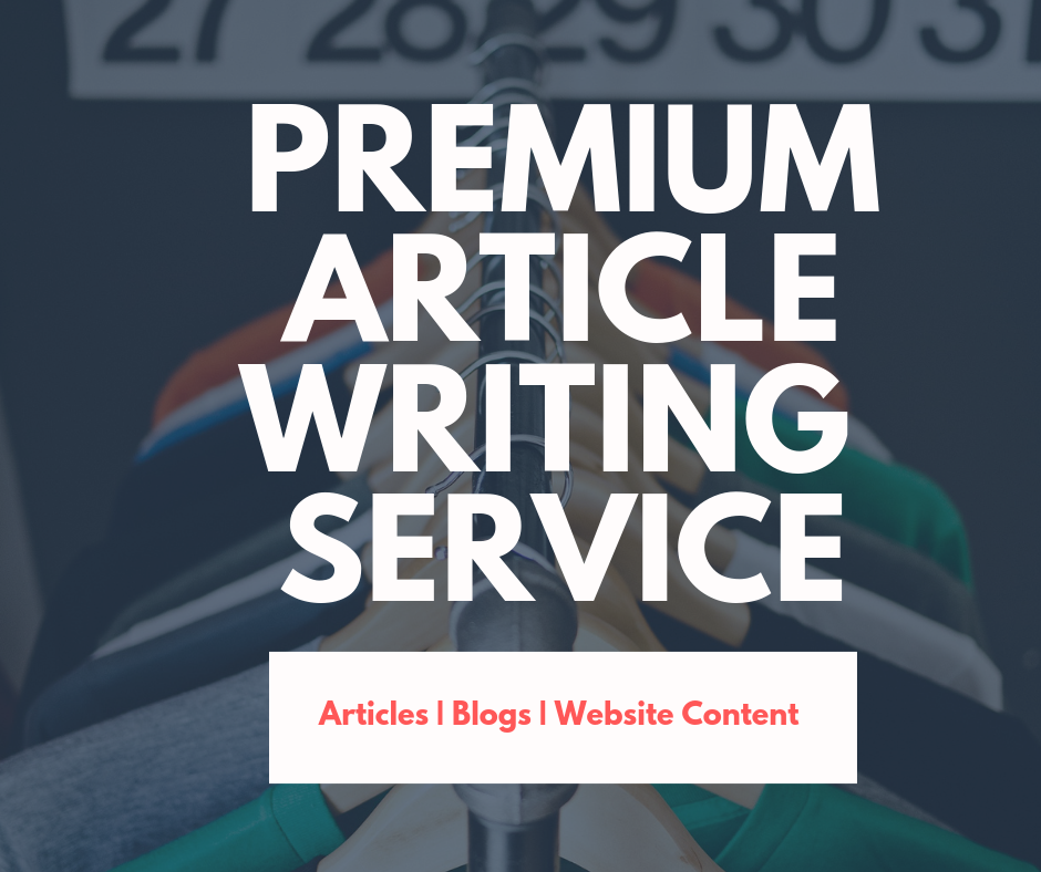 Premium Article Writing at the affordable price