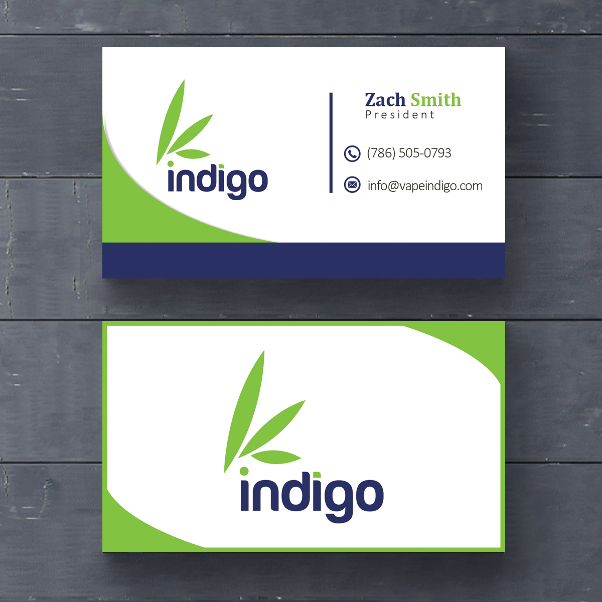 A Unique Business card with Word Class Quality.