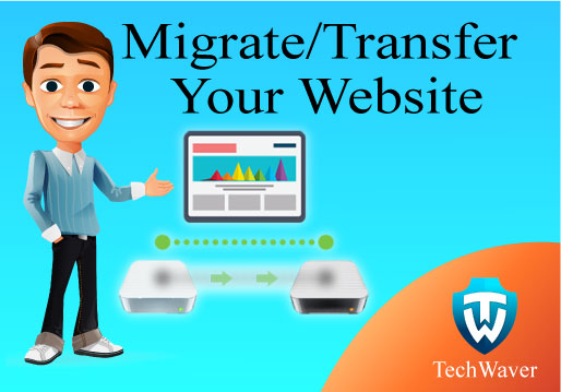 Migrate/transfer your website into new hosting, domain within 1-3 hours