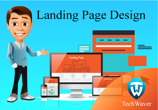 Get Awesome landing page design for your website within 24 hours