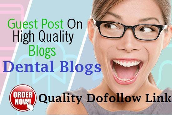 Write and Post Article to Dental Blog DA30