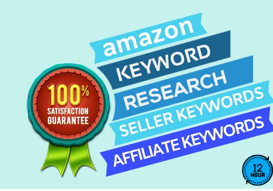 I will do In-Depth Amazon Keyword Research with the competitor Analytics.