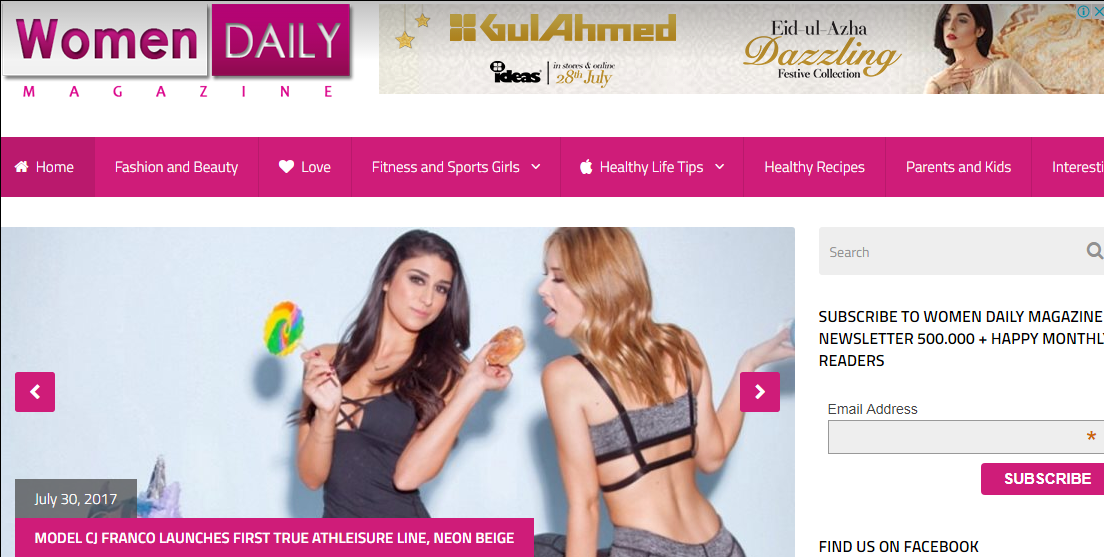 Give you guest post on womendailymagazine. com Beauty Blog