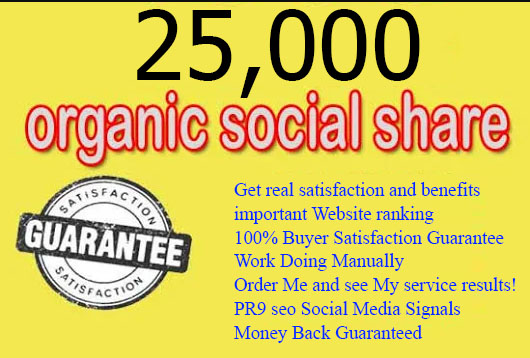 Super Top 5 Powerful Platform 25,000 PR9 SEO Social Signals Share Bookmarks Important Google Ranking Factors