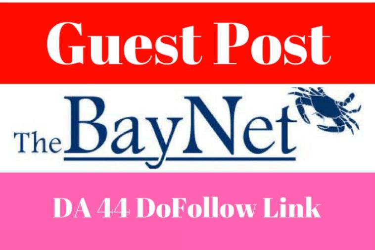 Publish A Guest Post On Thebaynet. com