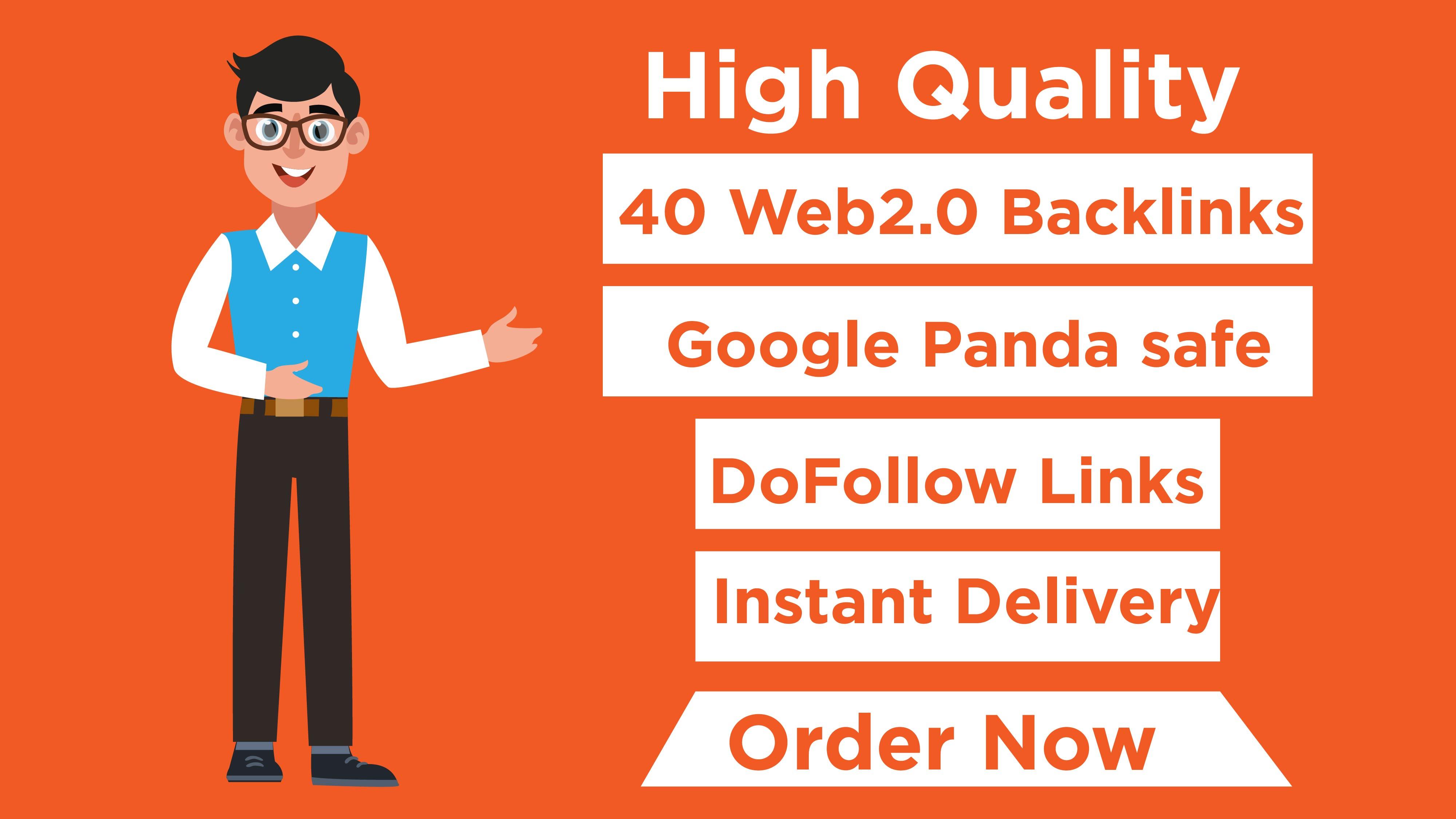 High Authority Web 2.0 Contextual Backlinks