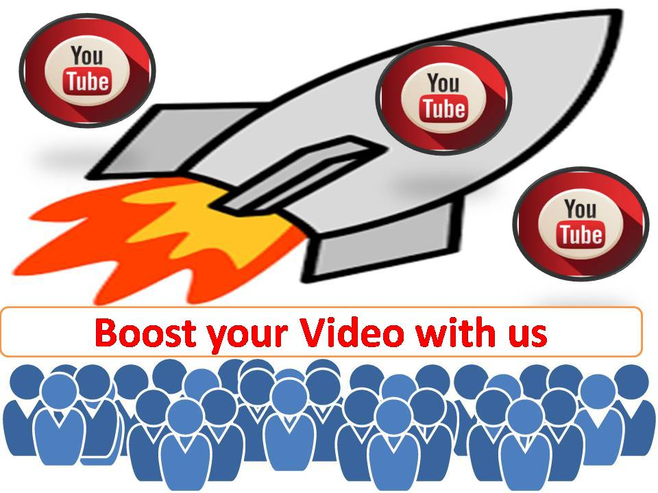 Boost your video with Real audience and get best qual...