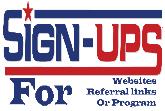Add 20 real sign ups under any websites, affiliate  links or  referral program