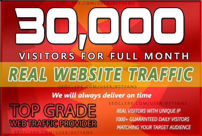 Send 30,000 keyword target Low Bounce Rate Website Traffic