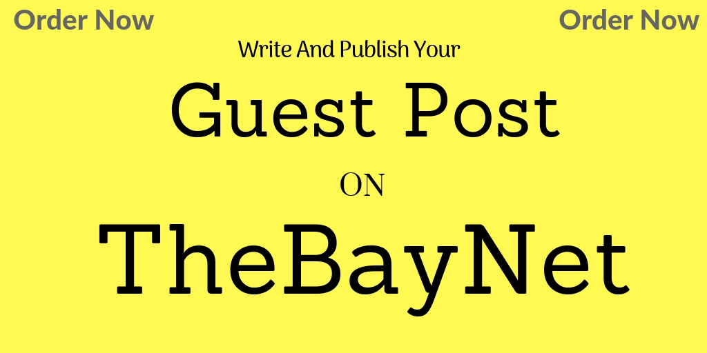 Guest Post on Thebaynet.com