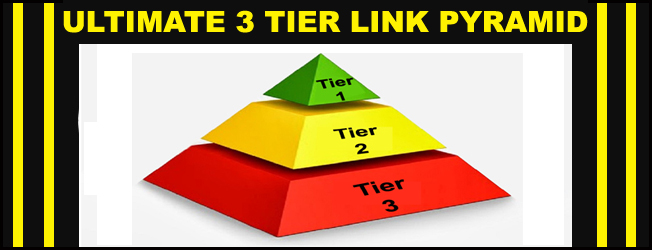 Natural Powerful Tier-3 Link Pyramid,  Organic White hat SEO Service &ndash Guaranteed Ranking