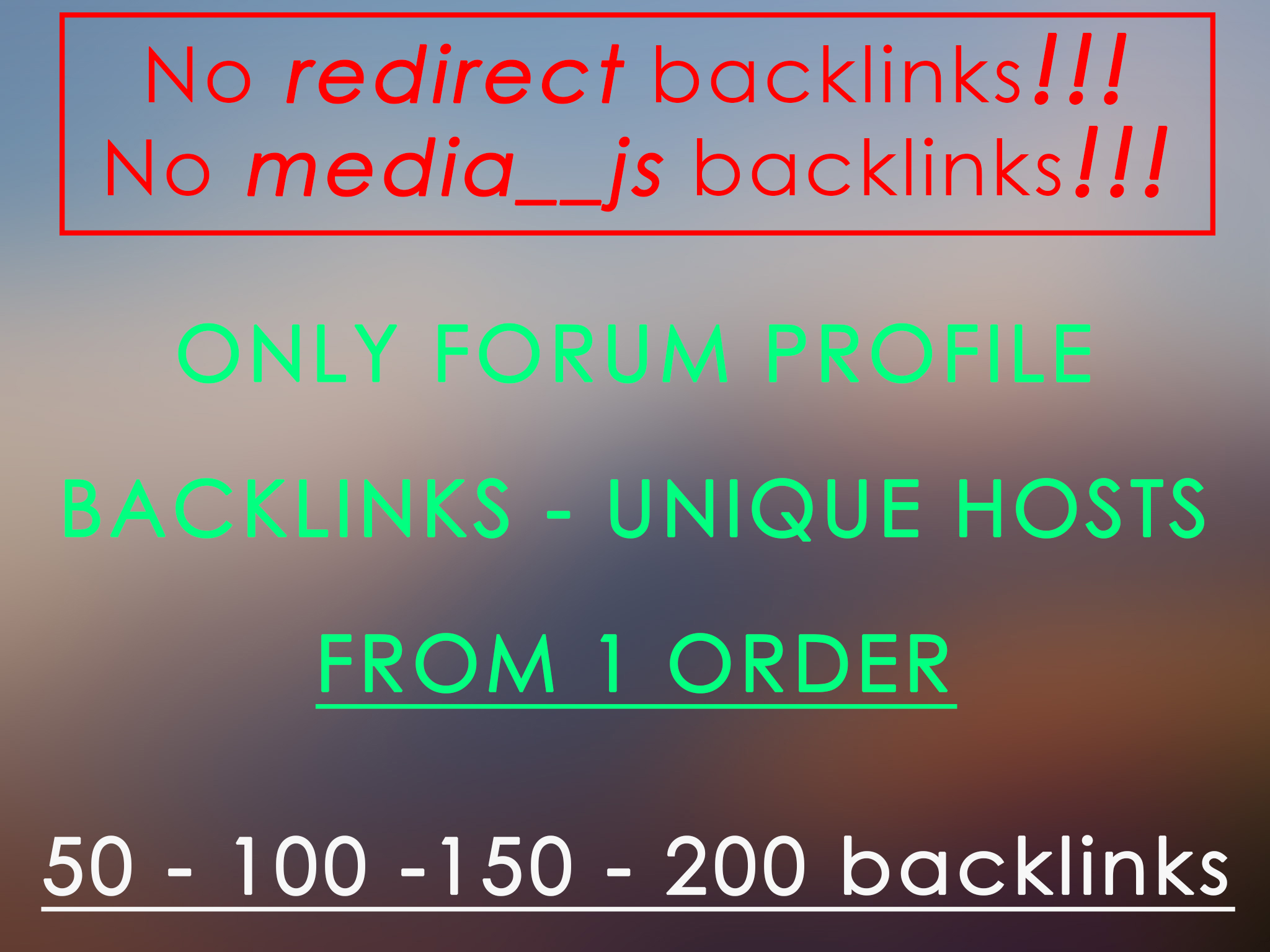 200 Perpetual Forum Profiles Backlinks without cheating