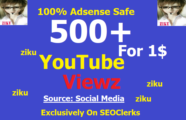 Add 500+ Video Viewz Trending Real Traffics/Hits