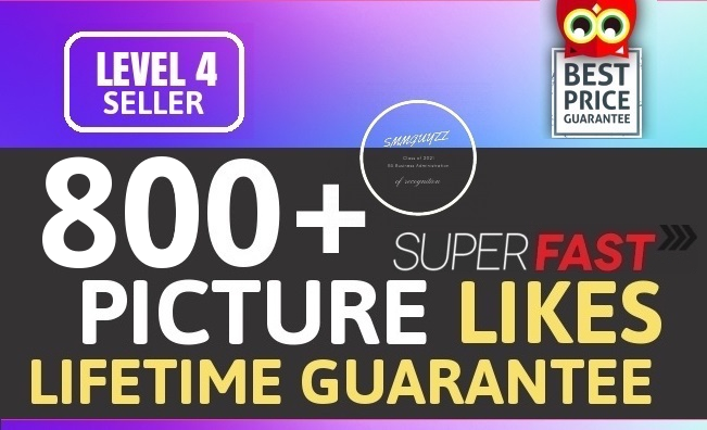 Instantly 800+ Likes Promotion High Quality