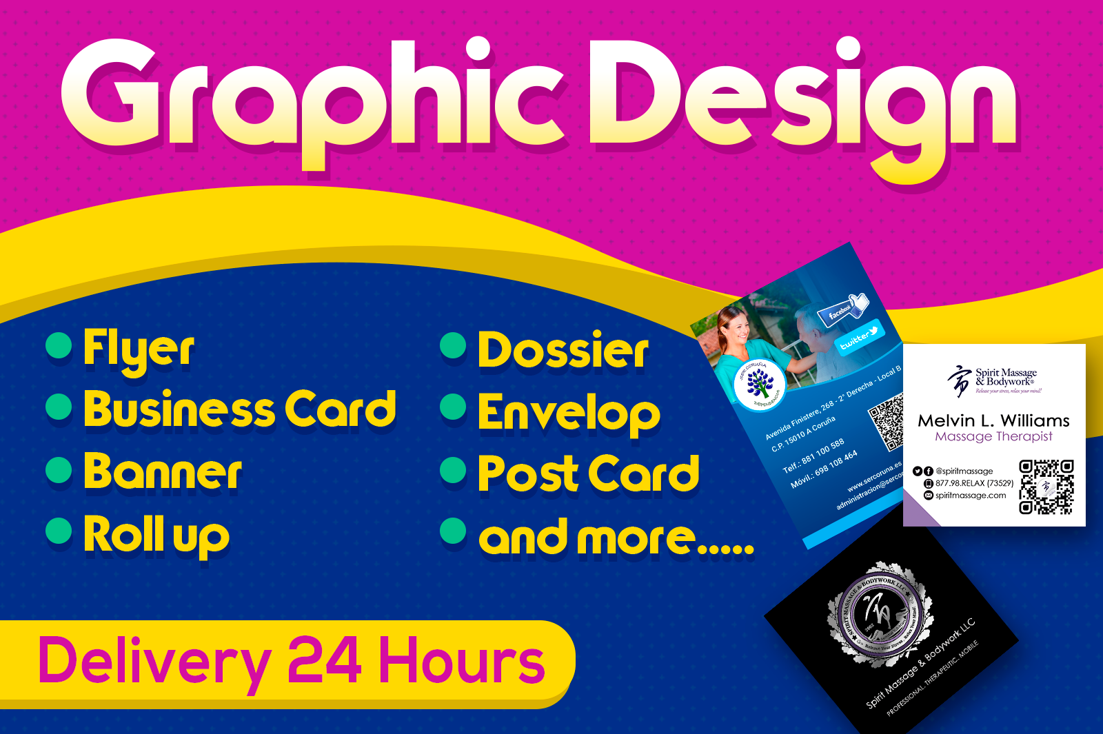 Make your graphic design free psd