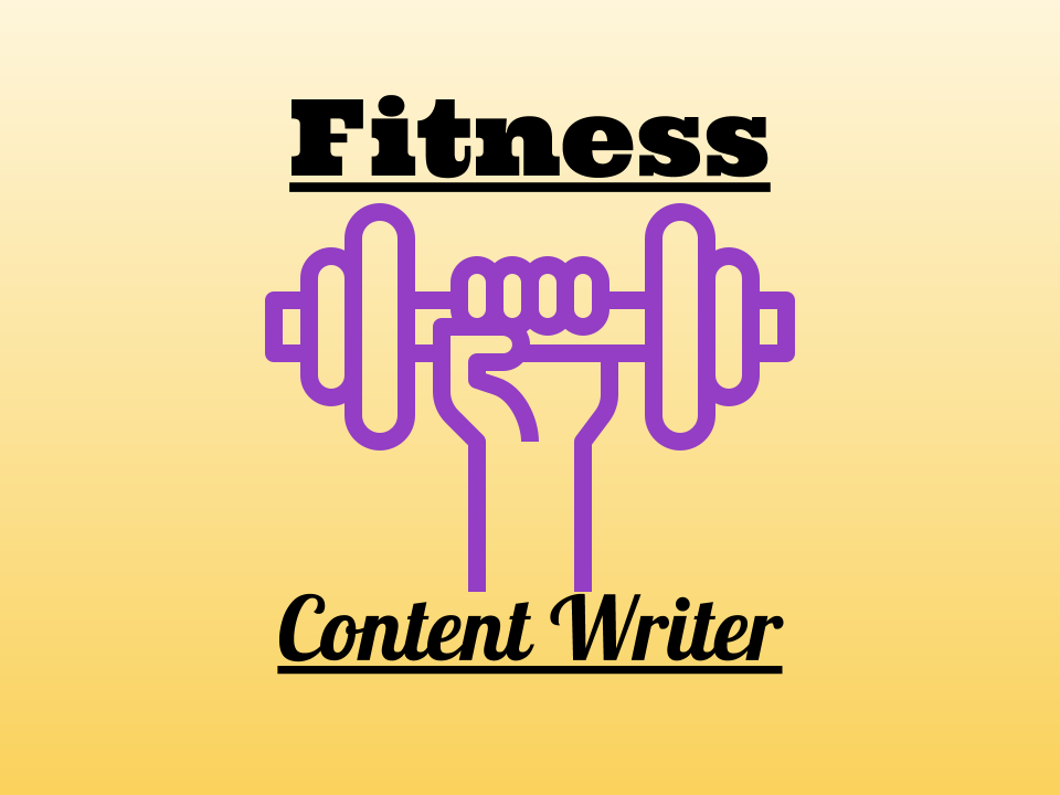 Unique Fitness Content - 1000 Word Article Or Blog Post