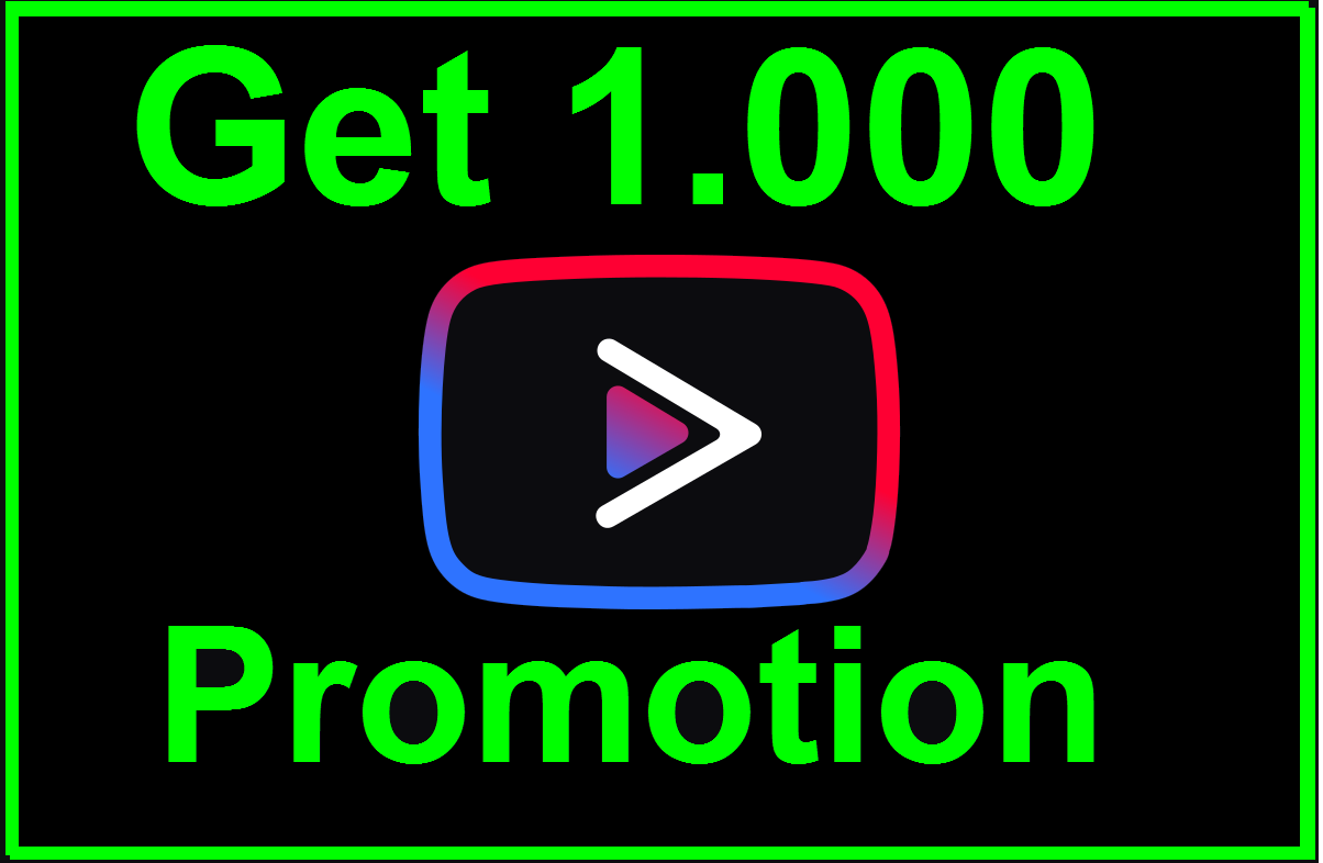 Get 1,000 Social Media Promotion Non-Drop Guaranted