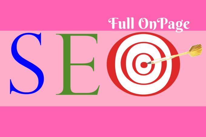 do onpage SEO for google