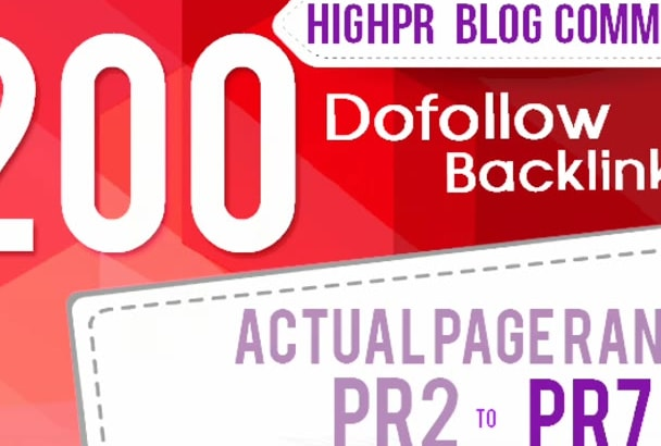 manually create 200 blog comments back links for SEO