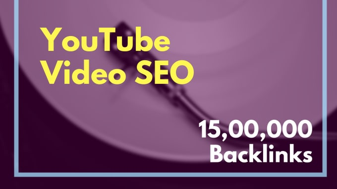 rank youtube video SEO optimization
