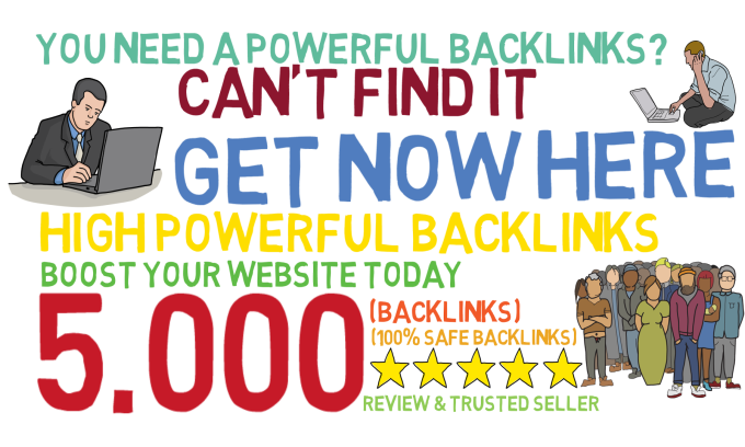do 5000 google friendly powerful SEO link building
