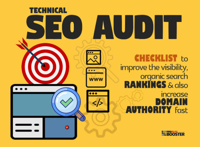 seo audit and optimization for every type of websites