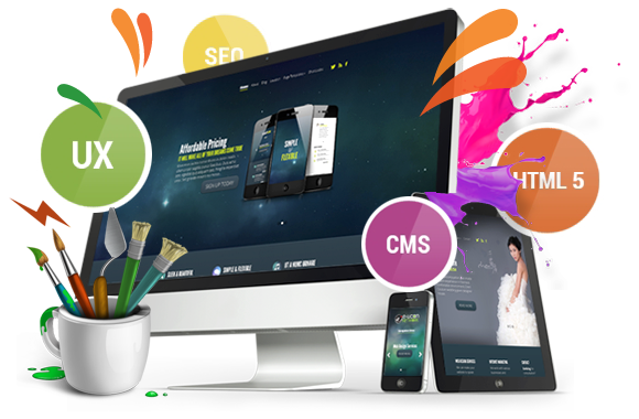 Design And Develop Fully Responsive Website With Free Hosting