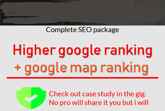 deliver 2018 tested guaranteed SEO ranking package
