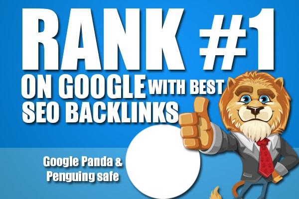 manually build 250 high pr contextual backlinks seo dofollow
