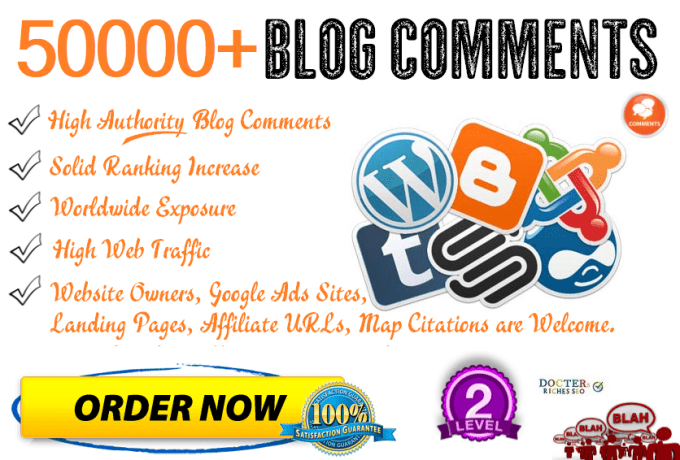 do 60,000 quality blog comments for high traffic SEO