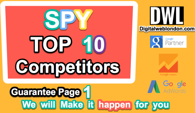 spy top 10 competitor, create actionable SEO report 2 outrank