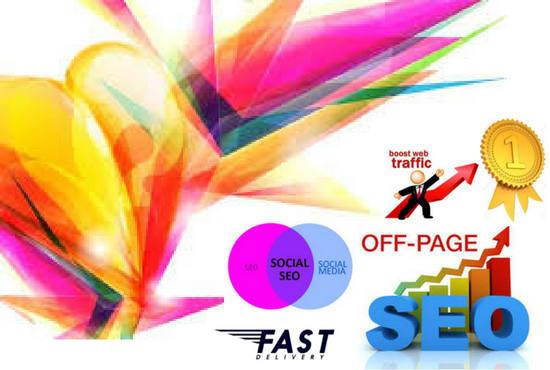 create premium quality SEO backlinks manually,  link building