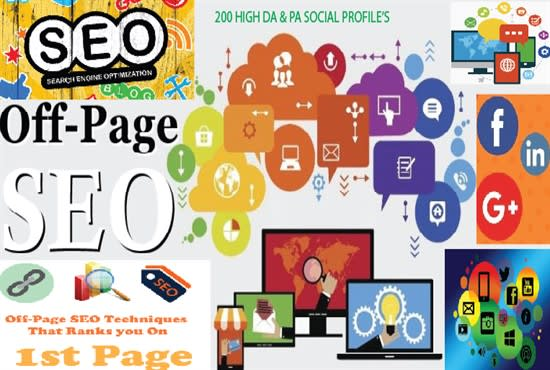 do high da off page seo and link building for your website