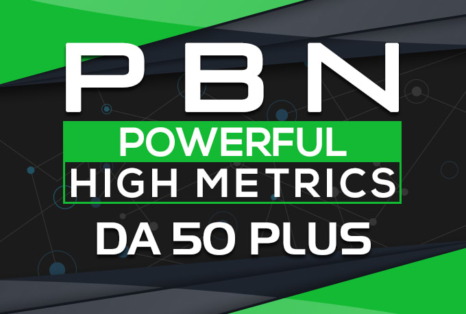 build 80 manual da 50 plus homepage pbn post backlinks