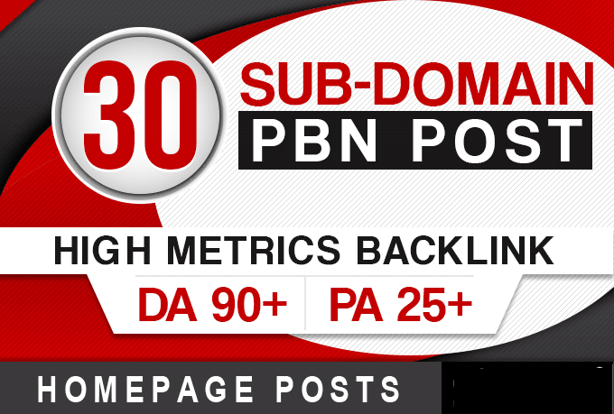 post 30 permanent pbn backlinks,  high da aged web2 posts