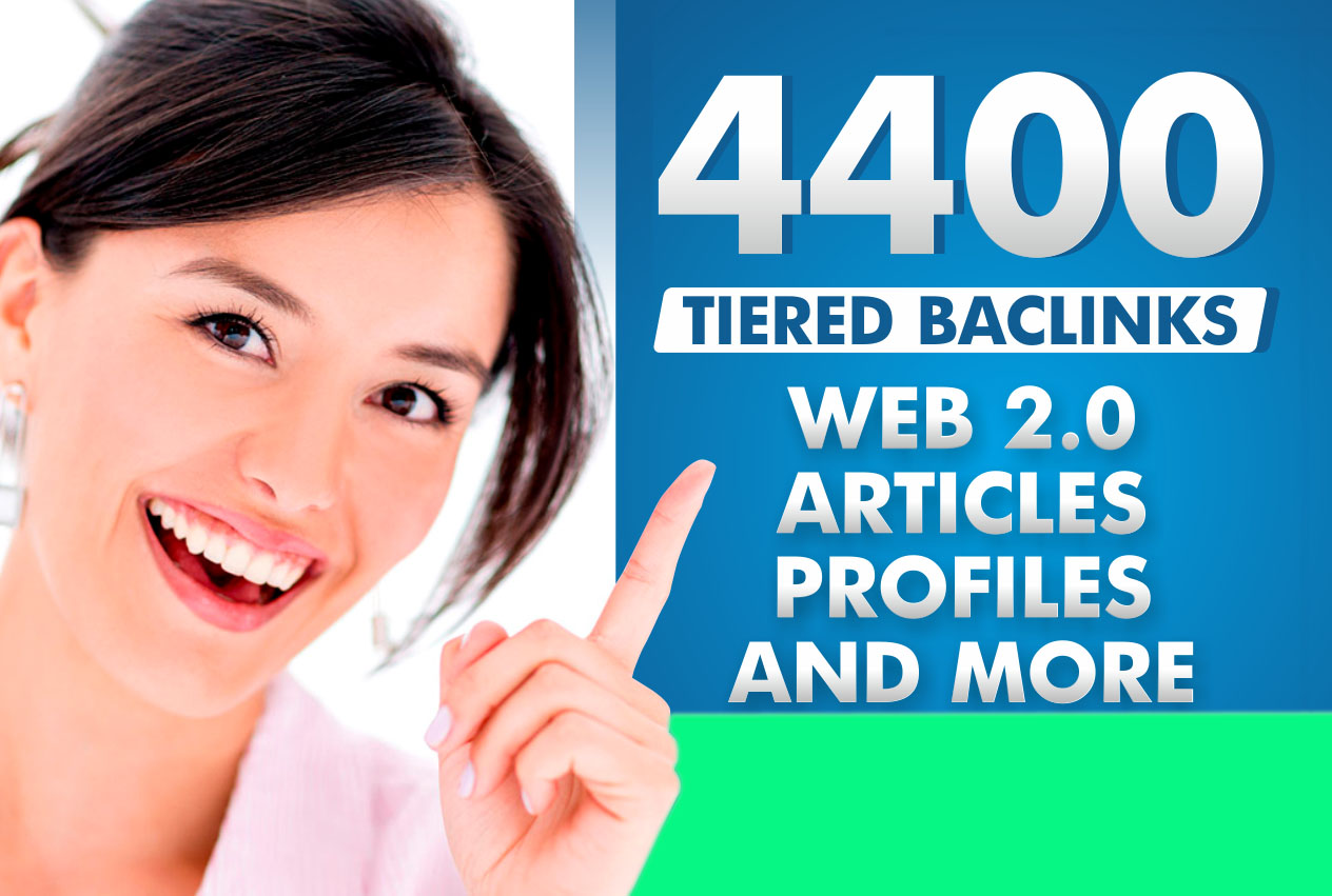 I Will Build 4400 Ultra Seo Contextual Backlinks Tier...