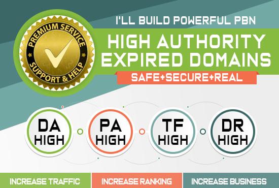 build or setup website on expired domain for pbn